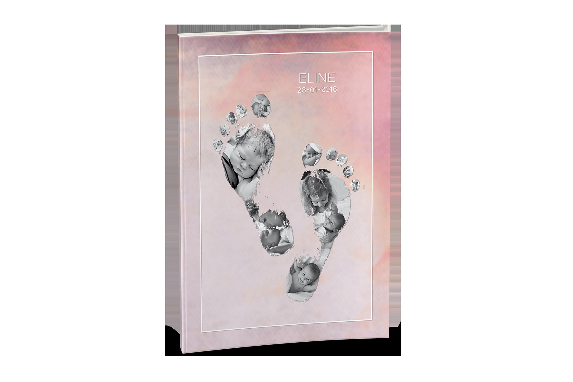 Omslag Babyvoetjes Het Leukste Fotoboek